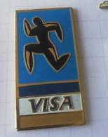 PIN'S - VISA - Coureur - Banks