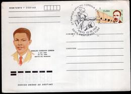 Cuba - 1994 - Lettre - Cachet Special - 27 Torneo Giraldo Córdova Cardín - Pugilato