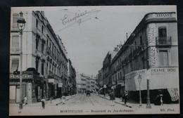 CPA Hérault - Montpellier (34000) Boulevard Du Jeu De Paume – ND Phot. 9i – Animée - A Voyagé En 1919. - Unclassified