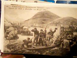 MARSALA  SBARCO MILLE  1860  CINQUANTENARIO RISORGIMENTO GARIBALDI  N1911 IG10278 - Marsala