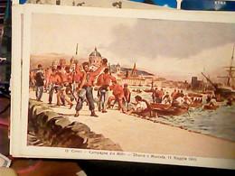 MARSALA SBARCO MILLE 1860 GARIBALDI ILLUSTRATA QUINTO CENNI N1911 ORIGINALE  IG10282 - Marsala