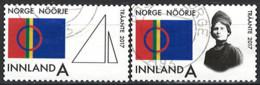 Norwegen Norway 2017. Mi.Nr. 1929-1930, Used O - Usados