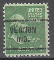 USA Precancel Vorausentwertungen Preos, Locals Indiana, Vernon 712 - Vorausentwertungen