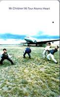 (3-10-2021 F) Phonecard -  Japan - (1 Phonecard)  Music & Aircraft - Aerei
