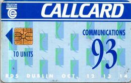 (3-10-2021 F) Phonecard -  Ireland - (1 Phonecard)  10 Units - Dublin - Ireland