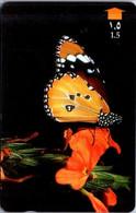 (3-10-2021 F) Phonecard -  Oman - (1 Phonecard)  Butterfly - Farfalle