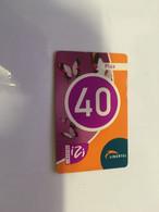 (3-10-2021 F) Phonecard -  ? - (1 Phonecard)  Libertel - 40 - Butterfly - Farfalle