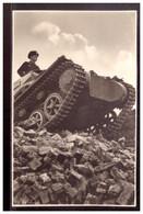 Dt- Reich (020355) Propagandakarte Unsere Wehrmacht, Panzer, Ungebraucht - Briefe U. Dokumente