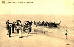 Coq Sur Mer Barque De Sauvatage - De Haan