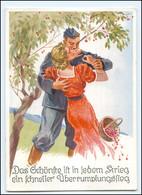 Y15757/ Liebespaar   Soldat Und Frau   AK Ca. 1940  Verlag. Emil Köhn  - Guerre 1939-45
