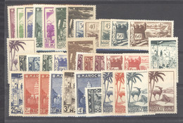 Maroc  :  Yv  163-99   **  Sauf 173 - Unused Stamps