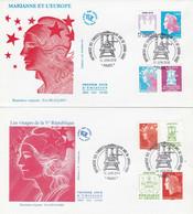 40ème Anniversaire De Boulazac - Les 4 Types D'impression - CHEFFER / BEAUJARD - 2010-....