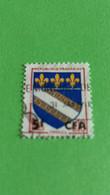FRANCE - REUNION - Ex-colonie Française - Timbre 1954 - Blasons Des Villes - Armoiries De Troyes - Oblitérés