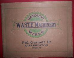 GARNETT WIRES WASTE MACHINERY CLECKHEATON England Manufacture Metallic Saw Tooth Wires - Cultura