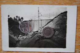 5968/WAIMES/WEISMES-CARTE PHOTO CONSTRUCTION BARRAGE ROBERTVILLE (mardi 18/9/1928) - Waimes - Weismes