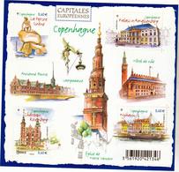 France 4637 4640 Copenhague F Neuf TB ** MNH Sin Charnela Prix De La Poste  2.4 - Ongebruikt
