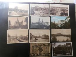 KARTONNEN DOOS3: 8 CPUSA  1917 POUR LA HOLLANDE POUR CORRESP. DE GUERRE SOLDAT BELGE - Covers & Documents