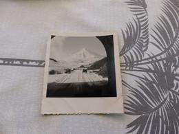 25-9 , 306, Photo, La Route Du Col Du Lautaret Enneigée,  Sortie De Tunnel , Décembre 1953 - Luoghi