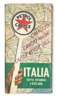 Petrol Caltex - Carta Stradale D'Italia - Anni '50 - Altri
