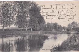 27 GARENNES Vue Sur L'Eure 1914 - Otros Municipios