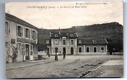 Champagnole - La Gare Et Le Mont Rivel   - CPA°gk - Champagnole