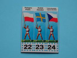 JOUE - SPEEL > MEXICORAMA Avec/met  LA VACHE QUI RIT ( Drapeaux / Vlaggen Nrs. 22-23-24 ) 1968 ! - Trading Cards