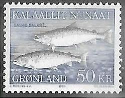 Greenland  1983   Sc#141 50kr  Fish MNH   2016 Scott Value $20 - Ungebraucht