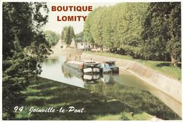 94 Joinville Le Pont Quai Des Usines Sortie Du Canal De Saint Maur Bateau Peniche - Joinville Le Pont