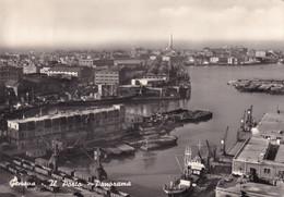 Cartolina Genova - Il Porto - Panorama - Genova