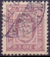 DENEMARKEN Dienstzegel 1875-23 3öre Perf 12½ GB-USED - Dienstpost