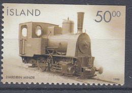 ++Iceland 1999. Train. Locomotive. Michel 910E. MNH(**) - Unused Stamps