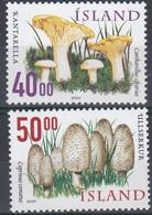 ++Iceland 2000. Mushrooms. Michel 943-44. MNH(**) - Nuovi