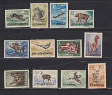 STAMPS-ROMANIA-1956-UNUSED-MNH**SEE-SCAN - Neufs