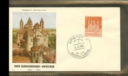 1961 - Deutschland FDC Mi. 366 (2) - 901 Jahre Kaiserdom Speyer [PB6_043] - FDC: Brieven