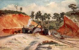 Australië - Gold Coast - A Steam Shovel Takoradl - Train - Cheesman - 1915 - Non Classés