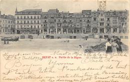 Heyst S/Mer - 1900 - Partie De La Digue - Heist