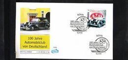 1999 - Deutschland FDC Mi. 2043 - Transport - Cars - 100 Jahre Automobilclub Von Deutschland (AvD) [KW016] - FDC: Brieven