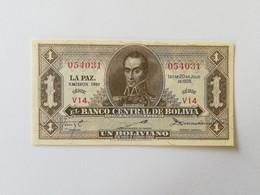 BOLIVIA 1 BOLIVIANO 1952 - Bolivia