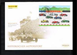 Transport - Cars - Historischer Motorsport - FDC Mi. Block 75 Germany 2009 [D19_166] - Auto's