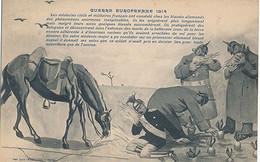 GUERRE EUROPEENNE 1914 - LES MEDECINS CIVILS ET MILITAIRES FRANCAIS ONT CONSTATE CHEZ LES BLESSES ALLEMANDS DES PHENOME - Patriottisch