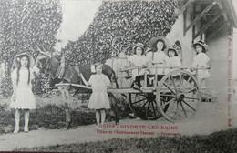 CPA  CARTE POSTALE  - 1914 DIVONNE LES BAINS FERME DE L'ETABLISSEMENT THERMAL, PROMENADE - Salute