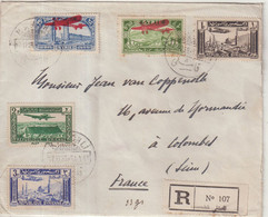 "SYRIE : REC . "" KAMICHLI "" . POUR LA FRANCE . 1938 . - Briefe U. Dokumente"