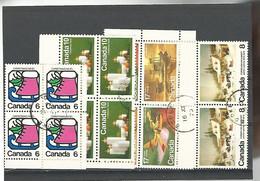 54548 ) Collection Canada Block - Blocks & Sheetlets