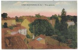 79 Chef-Boutonne - Vue Générale - Chef Boutonne