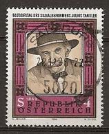 Autriche Austria 1986 Portrait Social Reformer - 1981-90 Oblitérés