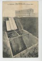 LE TREPORT - La Gare Du Funiculaire Et TRIANON HOTEL (cachet Militaire Au Dos STATION MAGASIN DU TREPORT ) - Le Treport