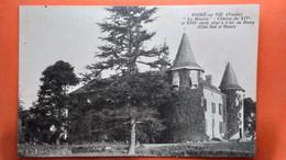 CPA (85)   Le Poiré Sur Vie. La Métairie Château.   (AB.899) - Poiré-sur-Vie