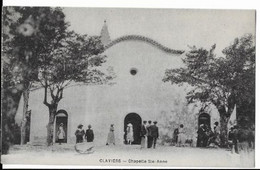 CLAVIERS- (Var) -Chapelle Ste Anne.( Animèe ,personnages) - Other Municipalities