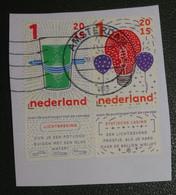 Nederland - NVPH - 3311 En 3312 - Paar - 2015 - Gebruikt Onafgeweekt - Lichtbreking En Statische Lading - Used Stamps