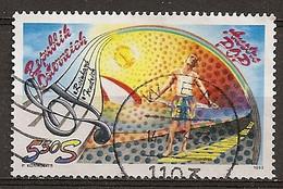 Autriche Austria 1993 Populair Entertainer Obl - 1991-00 Oblitérés
